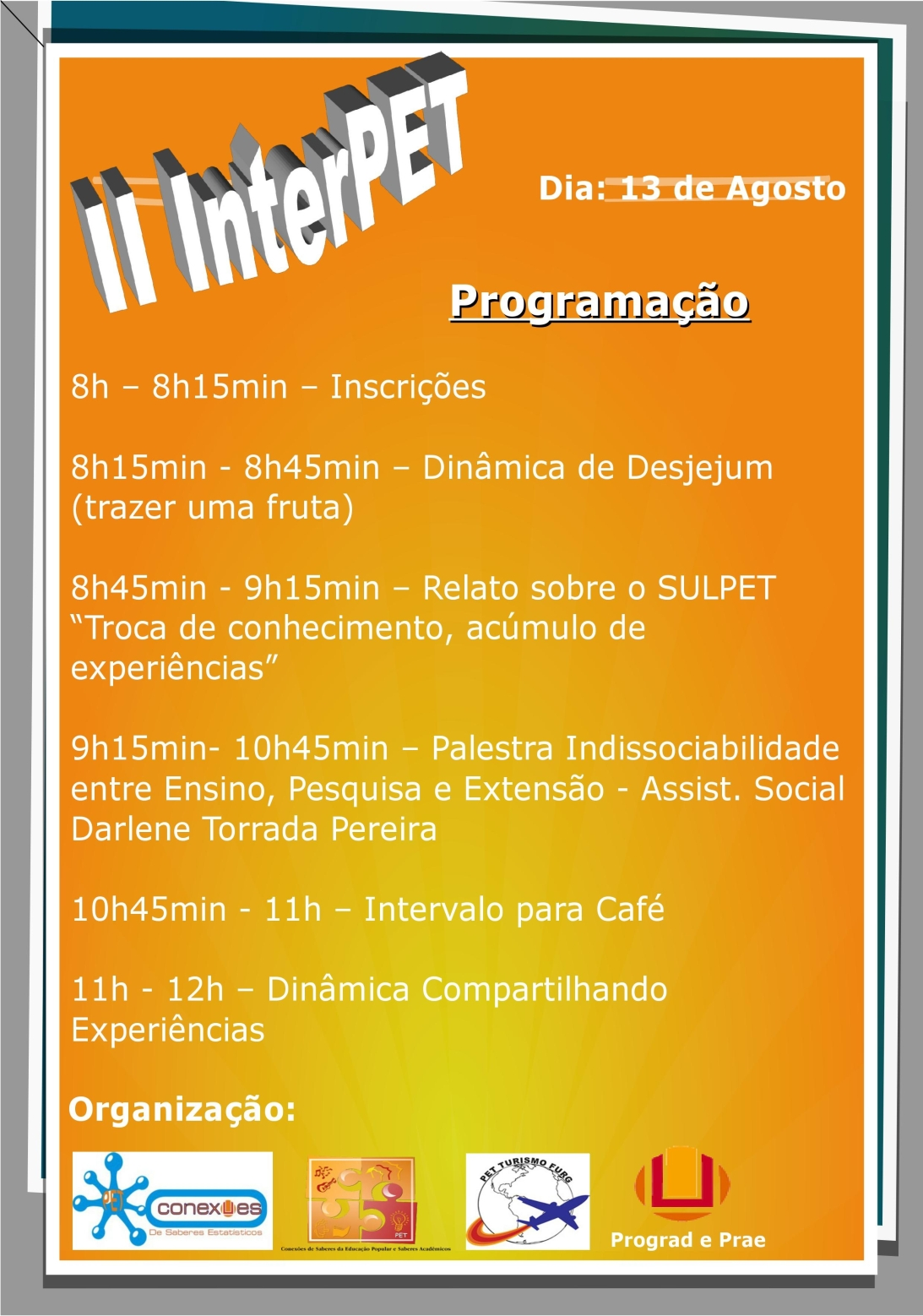 Cartaz II InterPET 13